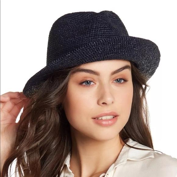 9600f3e19d2e6 helen kaminski Accessories - Helen kaminski black straw fedora hat